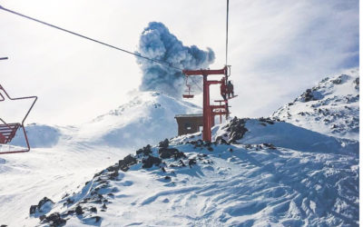What a Blast — Skiing on a Volcano