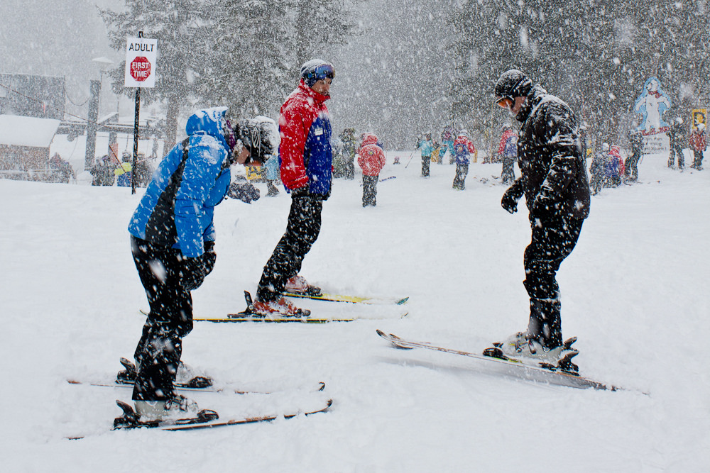 Gift That Keeps on Giving — Learning to Ski, Snowboard
